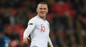 Wayne Rooney won his 120th and final England cap against the USA. GOAL