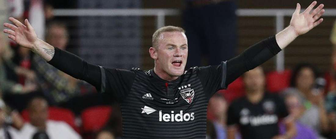 Rooney helped his new side to a 3-1 win. GOAL