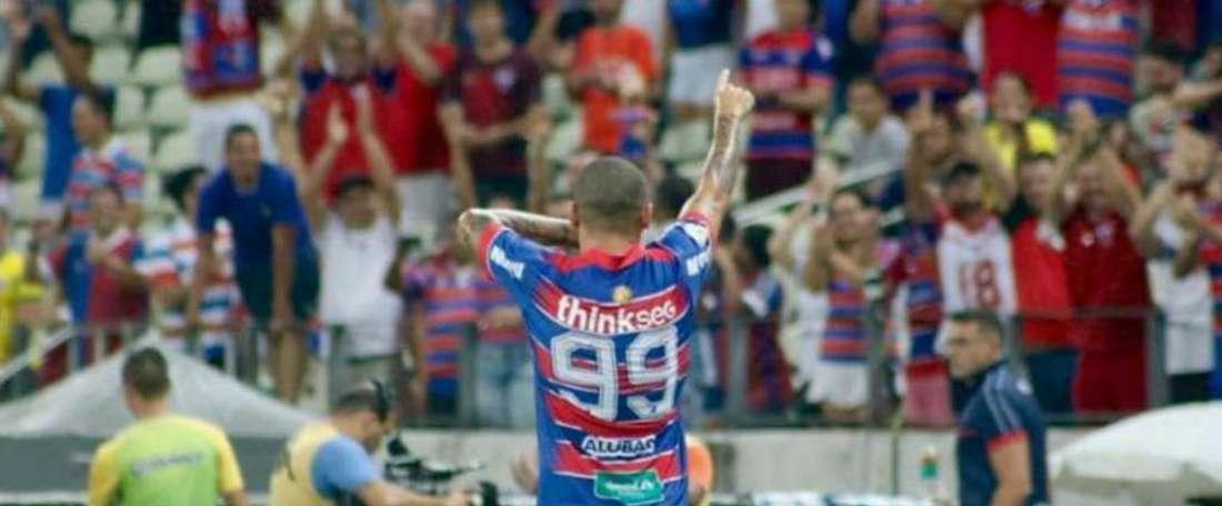 Wellington Paulista sai do banco, garante vitória do Fortaleza e mostra sua força no Brasileirão