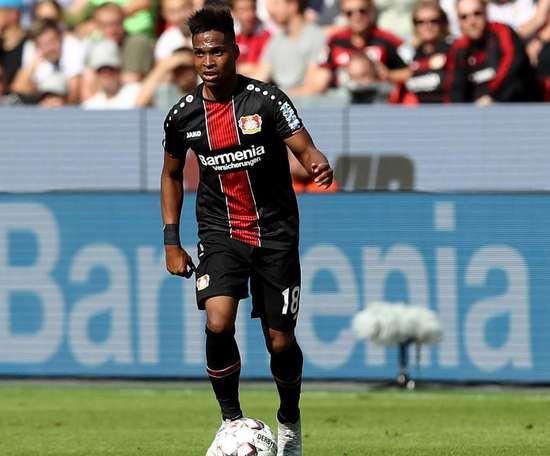 Wendell comemora classificação do Leverkusen na Europa League. Goal