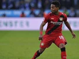 Wendell comemora vitória do Leverkusen na Europa League
