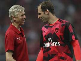 Wenger signed Cech in 2015. GOAL