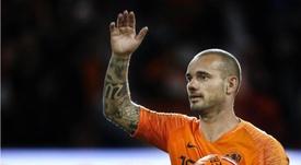 Wesley Sneijder prend sa retraite. GOAL