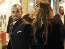 Sneijder e Yolanthe si separano. Goal