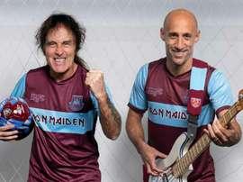Gli Iron Maiden e il West Ham uniti: nasce una maglia speciale. Goal