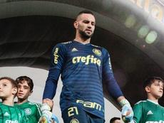 Weverton Palmeiras Cruzeiro Copa do Brasil. Goal