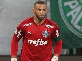 Weverton, mais decisivo do que nunca no Palmeiras. EFE