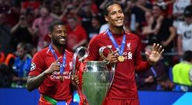 Champions League winners Van Dijk