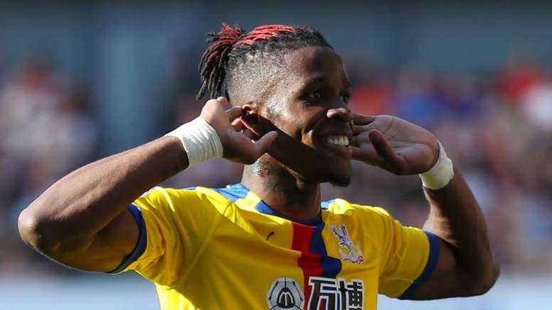 Wilfried Zaha has been linked with a move to Arsenal. GOAL