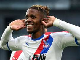 Wilfired Zaha is a key man for Crystal Palace. GOAL