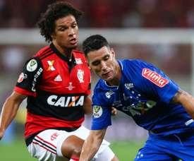 Willian Arão Thiago Neves Flamengo Cruzeiro Copa do Brasil 07 09 2017