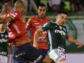 Willian Bigode Alex Silva Jorge Wilstermann Palmeiras Libertadores 03052017