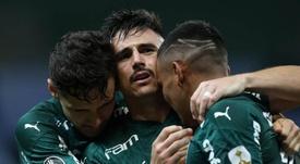 Quais são as maiores goleadas do Palmeiras na Libertadores?