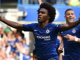 Le Brésilien a assuré se sentir très bien à Chelsea. Goal