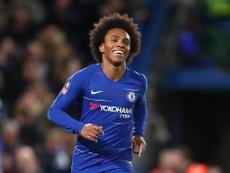 Willian prêt à faire toute sa carrière à Chelsea