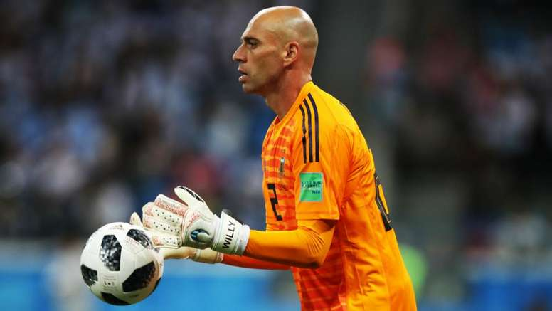 Caballero's family has received death threats. GOAL