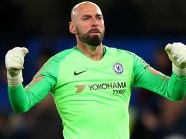 Willy Caballero has signed on for another season at Stamford Bridge. GOAL
