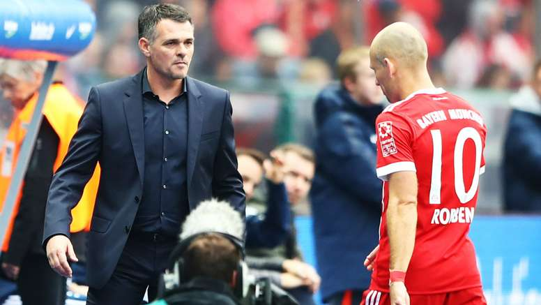 Hertha denied Sagnol the win on his first game as Bayern boss. AFP