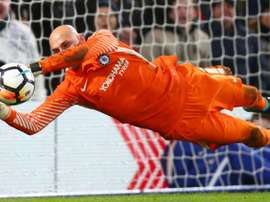Caballero will make his Premier League debut for Chelsea at Brighton. GOAL