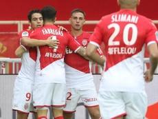 AS Monaco, Wissam Ben Yedder inarrêtable. AFP