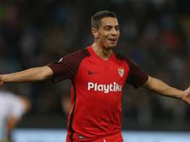 Ben Yedder is looking to make a move to a bigger club. GOAL