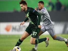 Wolfsburg-ASSE (1-0), Saint-Étienne par la petite porte. AFP