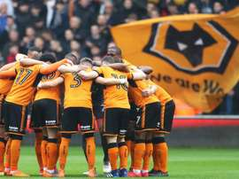 Wolves celebrated promotion in style. GOAL