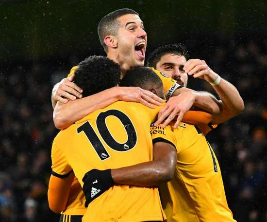 Wolves have won three straight PL games for the first time ever. GOAL