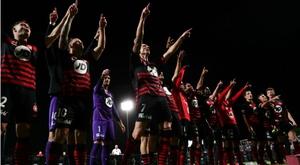 Western Sydney Wanderers won. GOAL