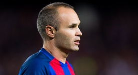 Andres Iniesta made his comeback from a knee injury in 'El Clasico'. Goal