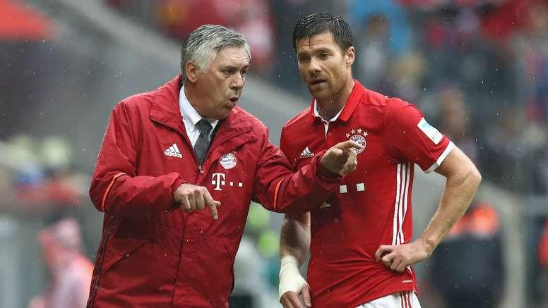 Xabi Alonso Carlo Ancelotti Bayern.Goal