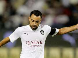 Xavi for Al Sadd. GOAL