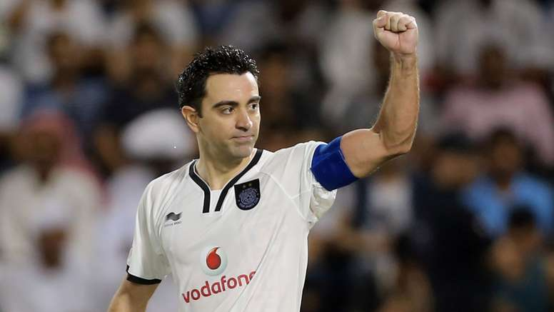 Xavi segue jogando, mas no Catar. Goal