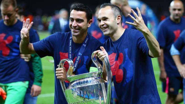 Iniesta is in favour of having a joint coaching role with Xavi in the future. GOAL