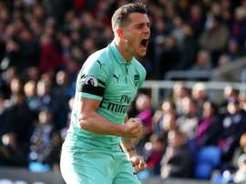 Xhaka is back in form. GOAL