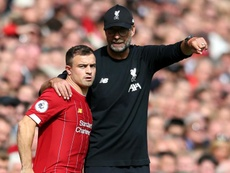 Klopp: Liverpool have 'no intention' of selling Shaqiri this month. GOAL