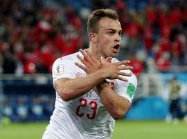 Xhaka, Shaqiri e Lichtsteiner podem ser suspensos pela FIFA.Goal