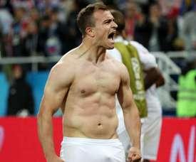 A Suíça bateu a Sérvia por 1-2. Goal
