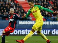 Bammou sauve l'honneur de Nantes mais pas l'échec. Goal