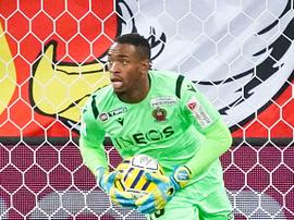 Le gardien Yannis Clementia va s'entraîner avec Lorient la semaine prochaine. goal