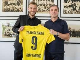 Dortmund have sealed the signing of winger Andriy Yarmolenko from Dynamo Kiev. GOAL