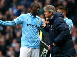 There were rumours that Toure would be reunited with Pellegrini. GOAL