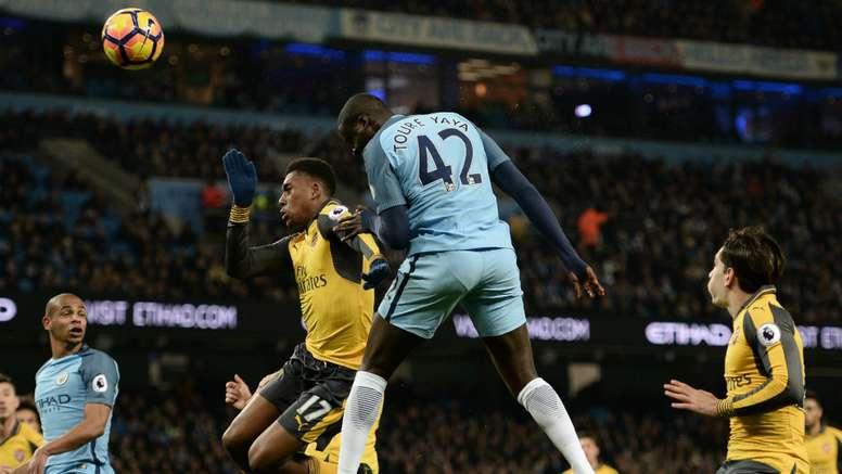 Yaya Toure said that Manchester City had more desire than Arsenal. Goal