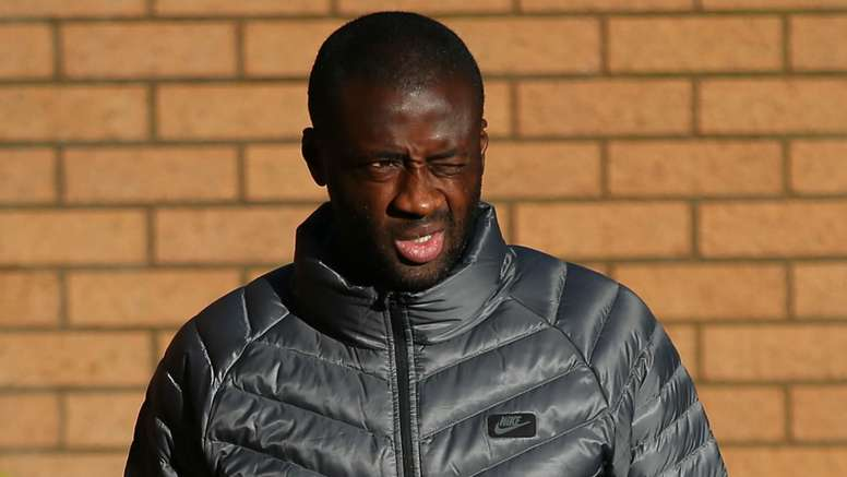 Toure says he is sorry. Goal