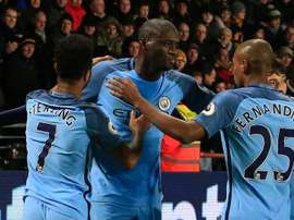 Yaya Toure Hull City Manchester City