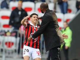 Nice, Atal 'travaille pour jouer dans un gand club'. AFP