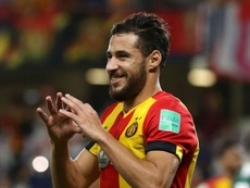 Belaili scored the only goal of the first leg for ES Tunis. GOAL