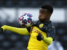 Dortmund's 15-year-old prodigy Moukoko wanted in first team by Favre. GOAL