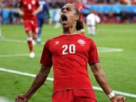 Le Danemark s'impose 1-0 face au Pérou. Goal