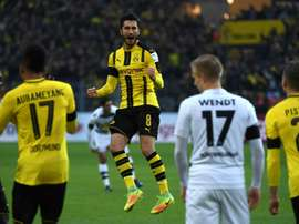 Sahin will be out of action for two weeks. Goal
